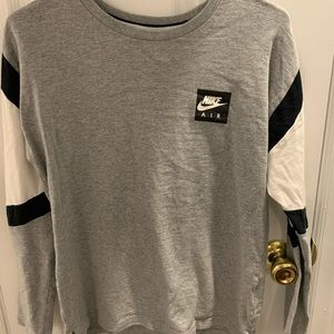 Grey Nike Long sleeve tee